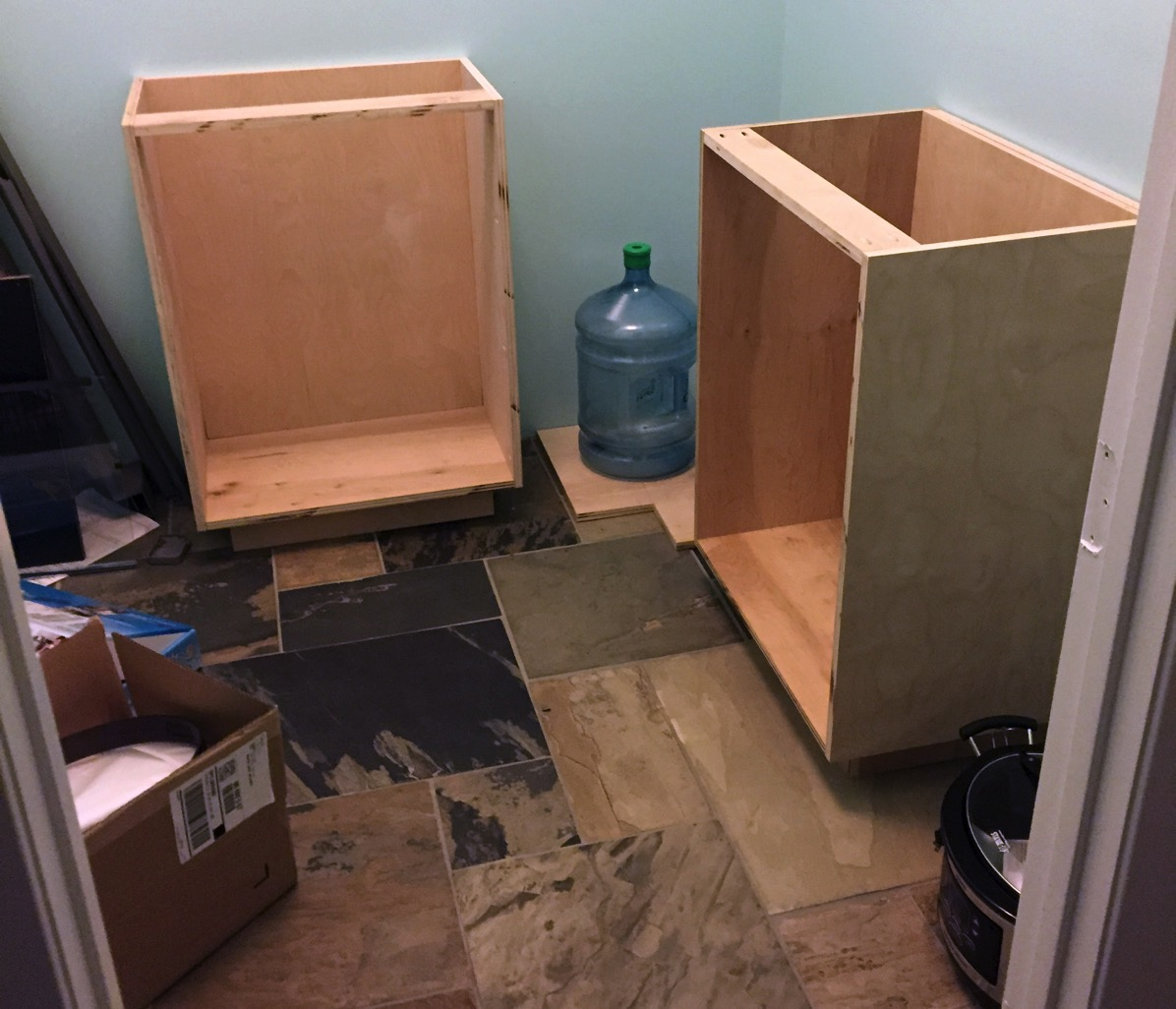 Getting started cabinets